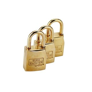 Chastity Belt 24 Carat Gold Plated Security Lock