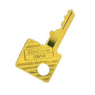 Gold-plated key